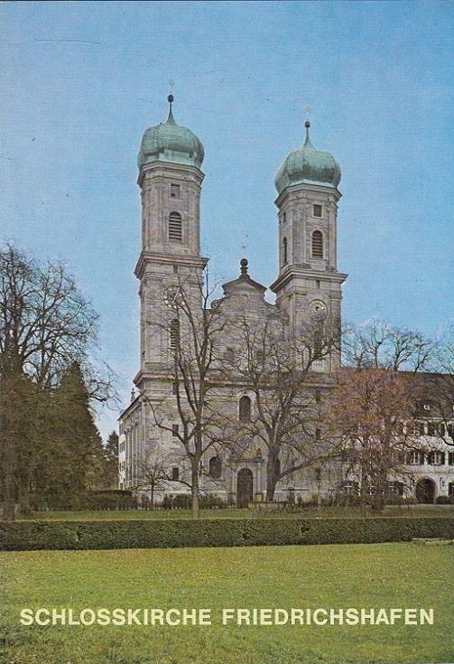 Die Schlosskirche zu Friedrichshafen am Bodensee : ehem. Benediktinerprioratskirche St. Andreas u. St. Pantaleon, seit 1812 evang. Stadtpfarrkirche. / Kunstführer ; Nr. 1089 1. Aufl.