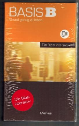 Basis B Grund genug zu leben, Die Bibel interaktiv, Markus, Diese Paket enthält: CD-Rom, Buch, Zugangscode für das Online-Portal