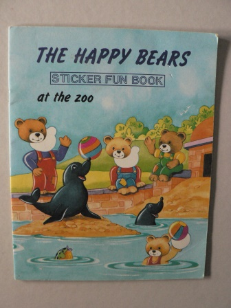 The Happy Bears at the Zoo (Sticker Fun Book)
