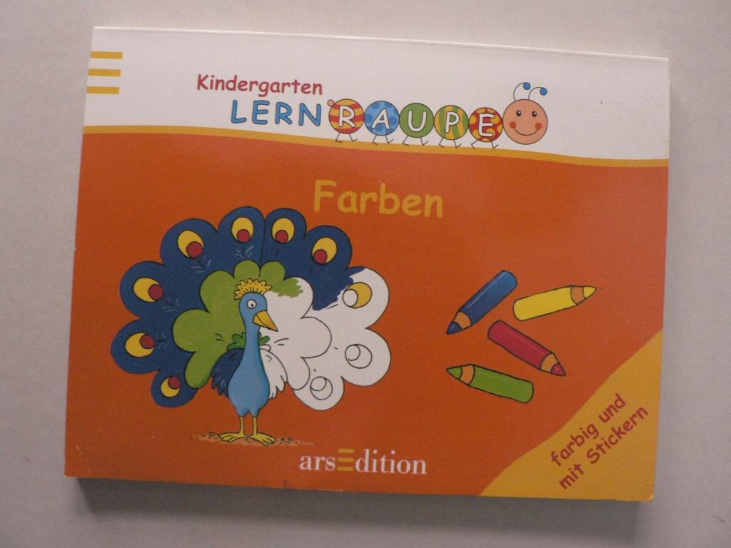 Farben - Meine erste Lernraupe