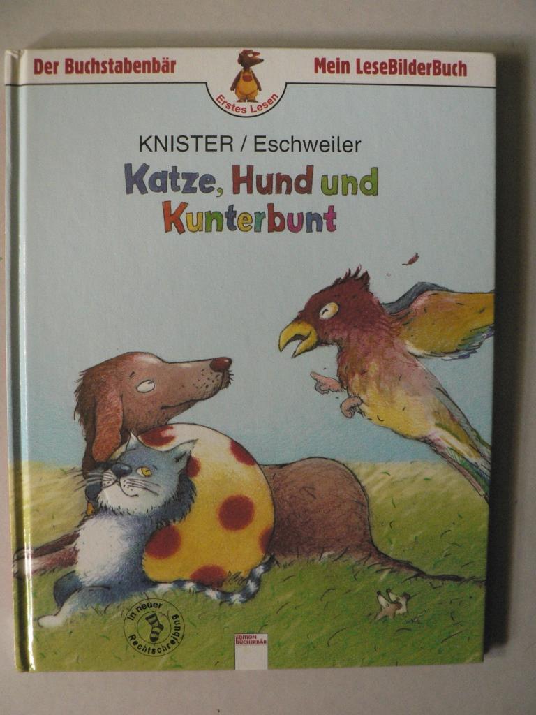 Der Buchstabenbär: Katze, Hund und Kunterbunt (Mein LeseBilderBuch) 2. Auflage