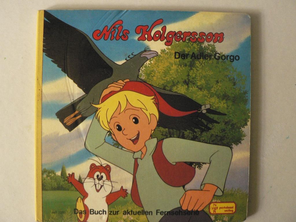 Nils Holgersson - Der Adler Gorgo (Das Buch zur aktuellen Fernsehserie)