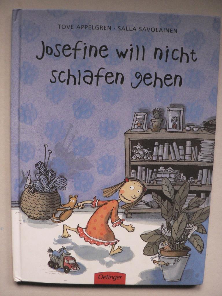 Josefine will nicht schlafen gehen