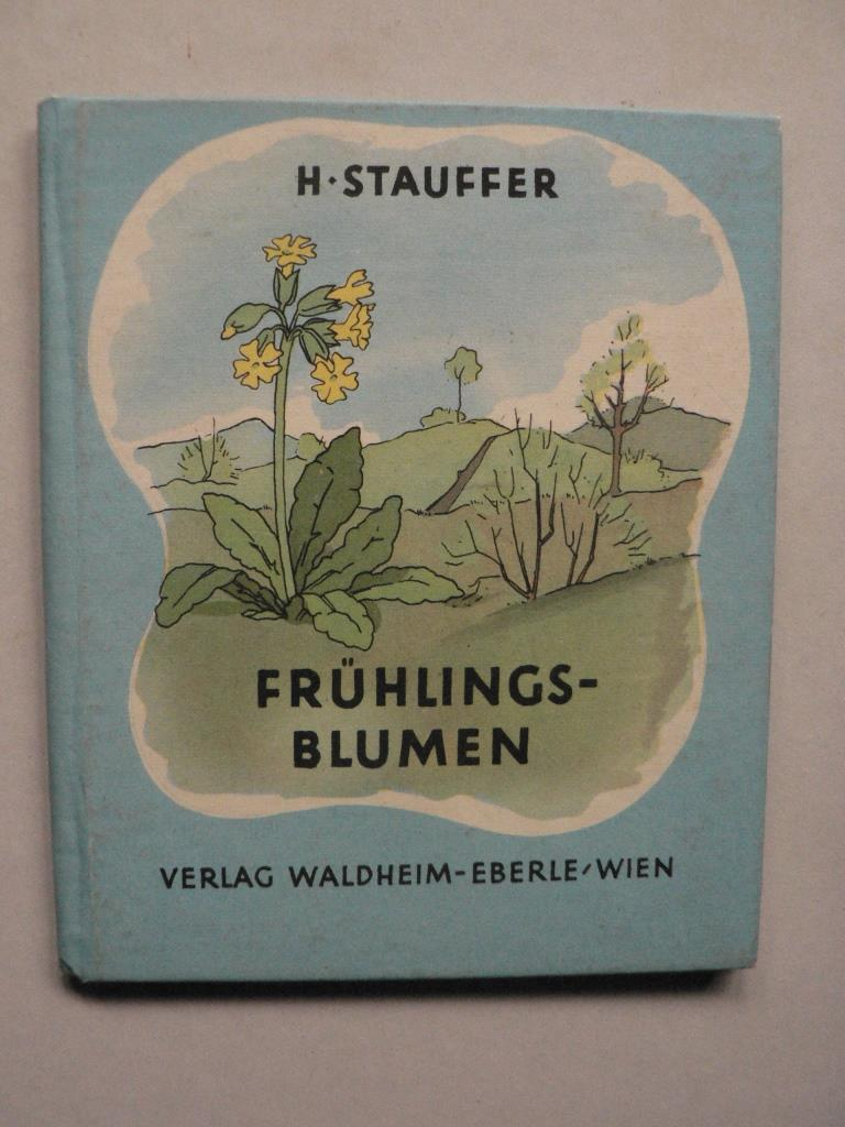 Frühlingsblumen (Die bunten Waldheim-Bücher)