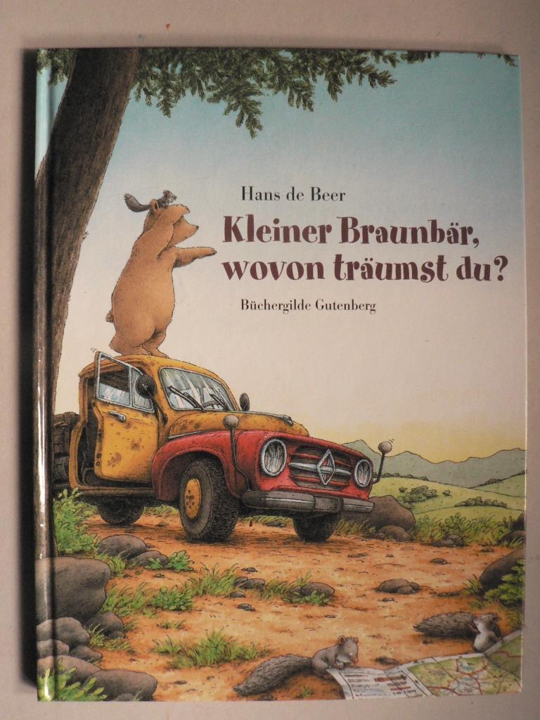 Hans de Beer/Lassig, Jürgen (Übersetz.)  Kleiner Braunbär, wovon träumst du?