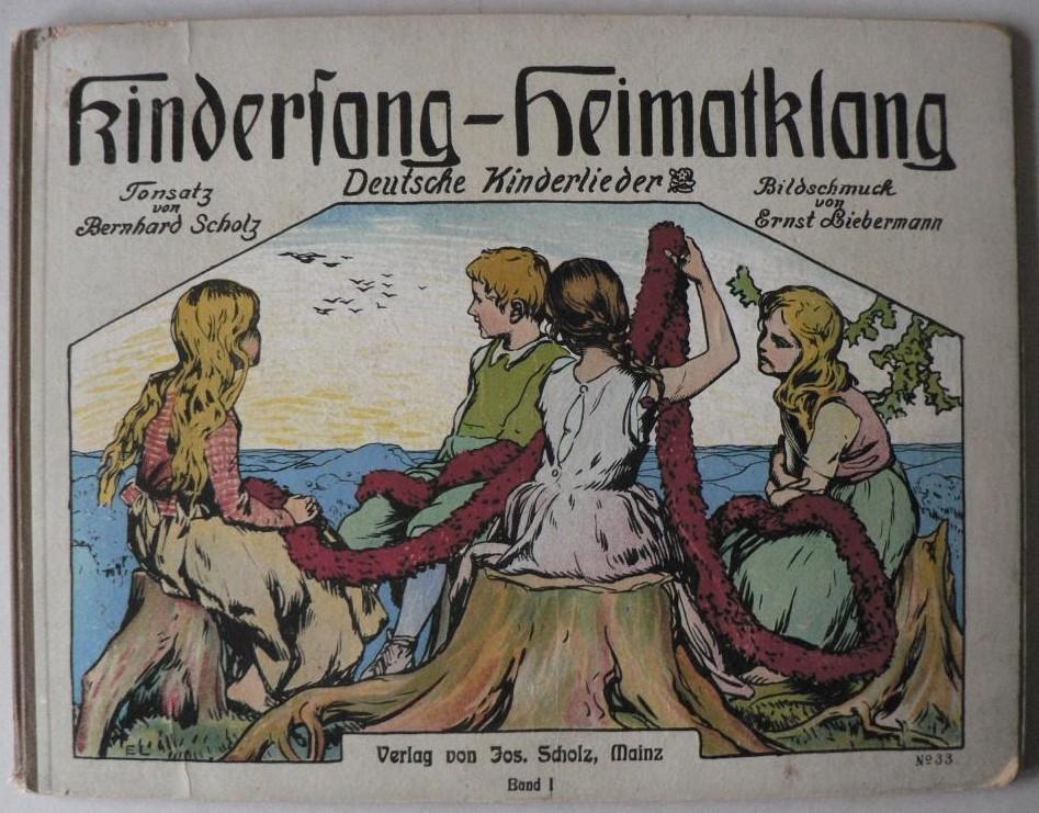 Kindersang - Heimatklang. Deutsche Kinderlieder (Band 1)