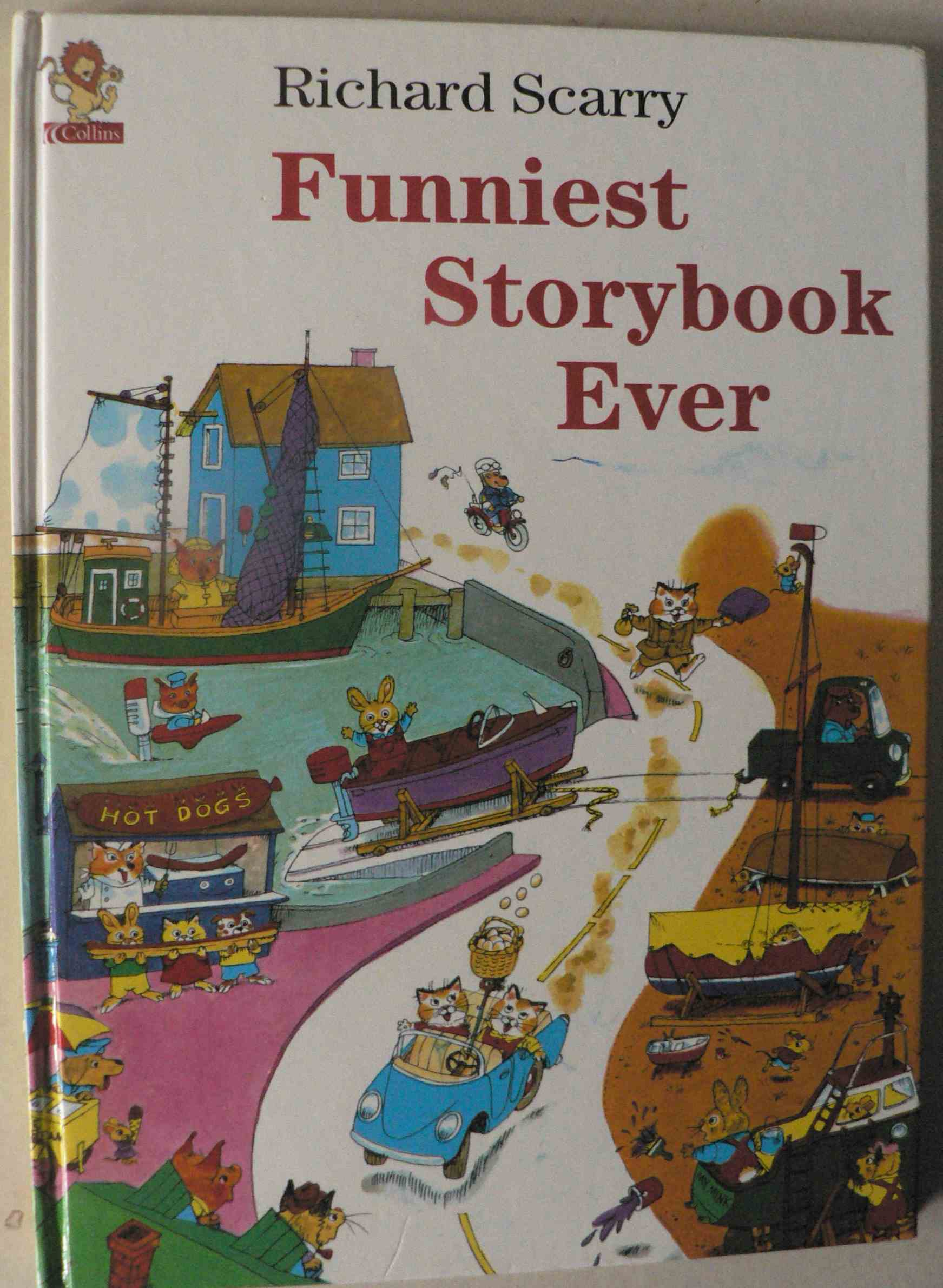 Richard Scarry Funniest Storybook Ever