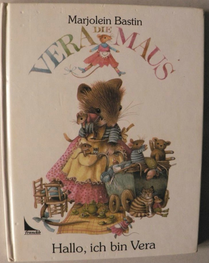 Vera die Maus:  Hallo, ich bin Vera