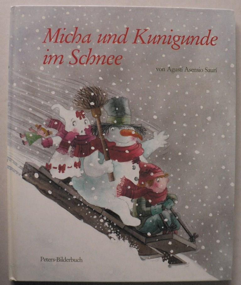 Micha und Kunigunde im Schnee