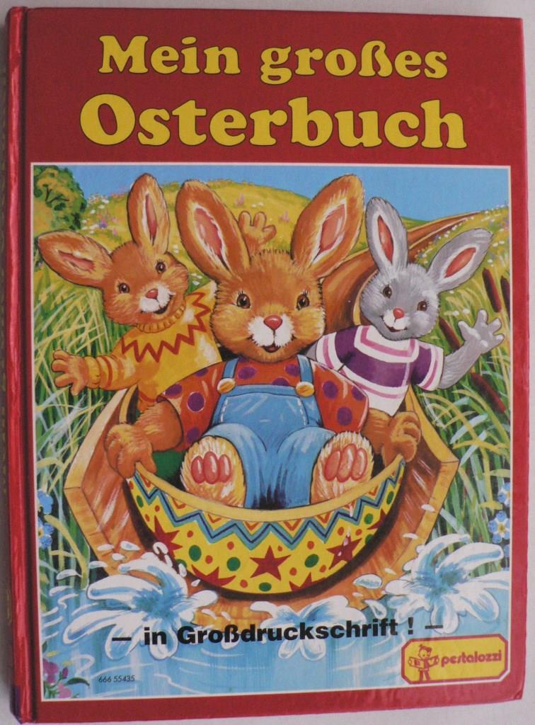 Mein großes Osterbuch. Lustige und spannende Ostergeschichten, Osterbasteleien und Rezepte für Osterleckereien (Großdruckschrift)