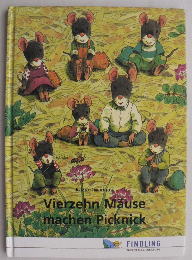Vierzehn Mäuse machen Picknick
