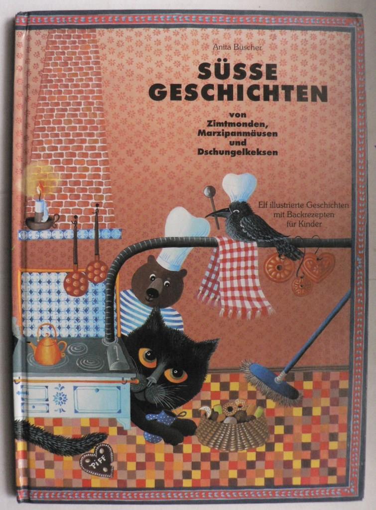 Süße Geschichten von Zimtmonden, Marzipanmäusen und Dschungelkeksen. Elf illustrierte Geschichten mit Backrezepten für Kinder