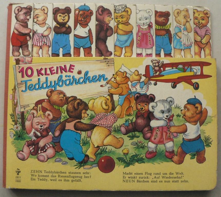 Zehn (10) kleine Teddybärchen (Registerbuch)
