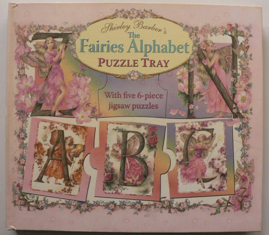 Shirley Barber`s The Fairies Alphabet Puzzle Tray.