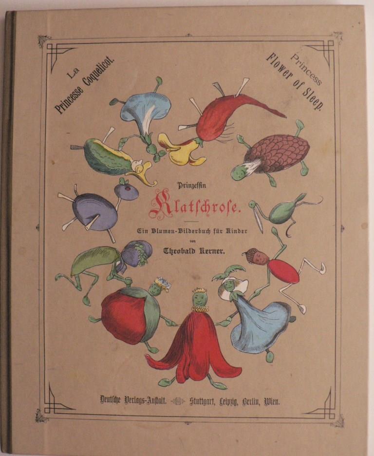 Prinzessin Klatschrose. Ein Blumen-Bilderbuch für Kinder/La Princesse Coquelicot/The Princess Flower Of Sleep.