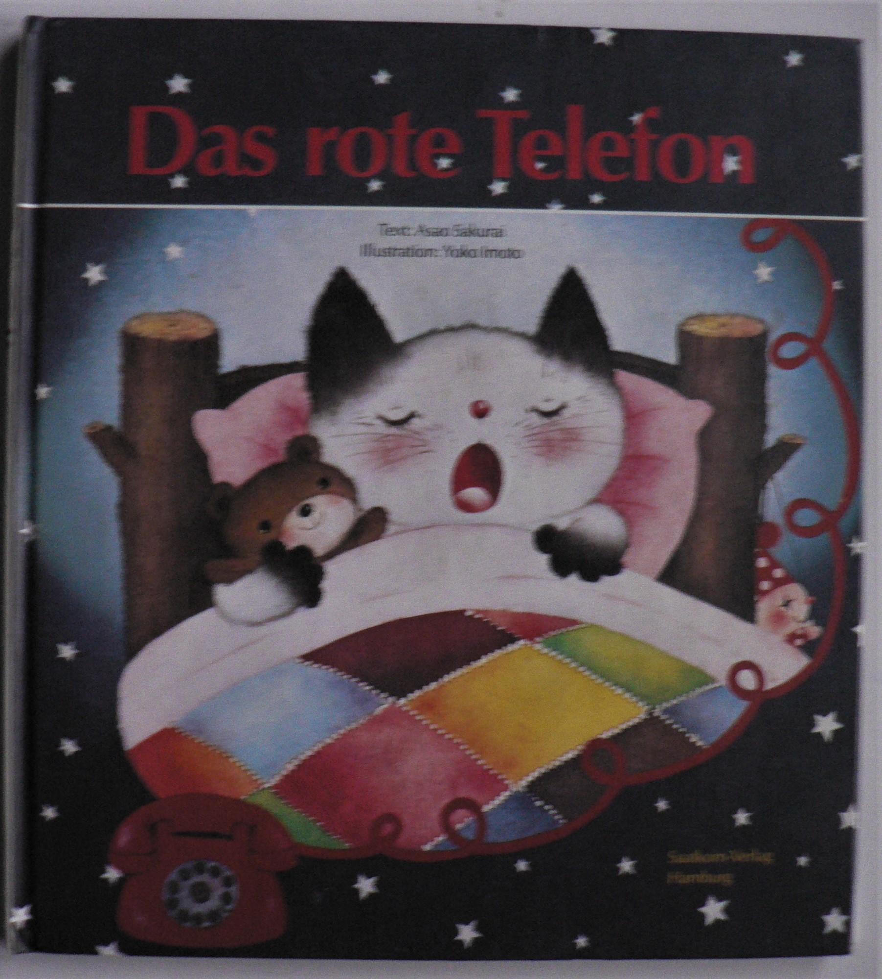 Bilder für Kinder von Tieren und Sachen:  Das rote Telefon