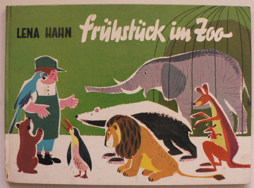 Lena Hahn (Verse)/Erich Hölle (Illustr.) Frühstück im Zoo - die Sache war so... Ein lustiges Bilderbuch 1. Auflage