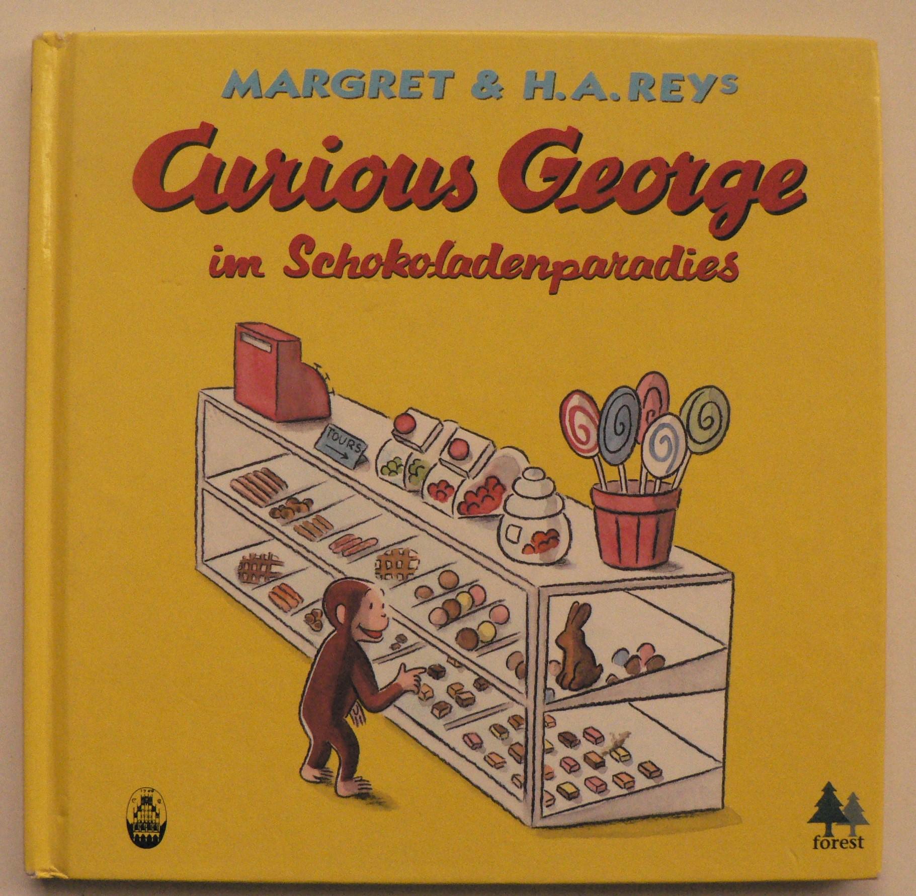 Rey, Margret/Rey, H A  Curious George im Schokoladenparadies