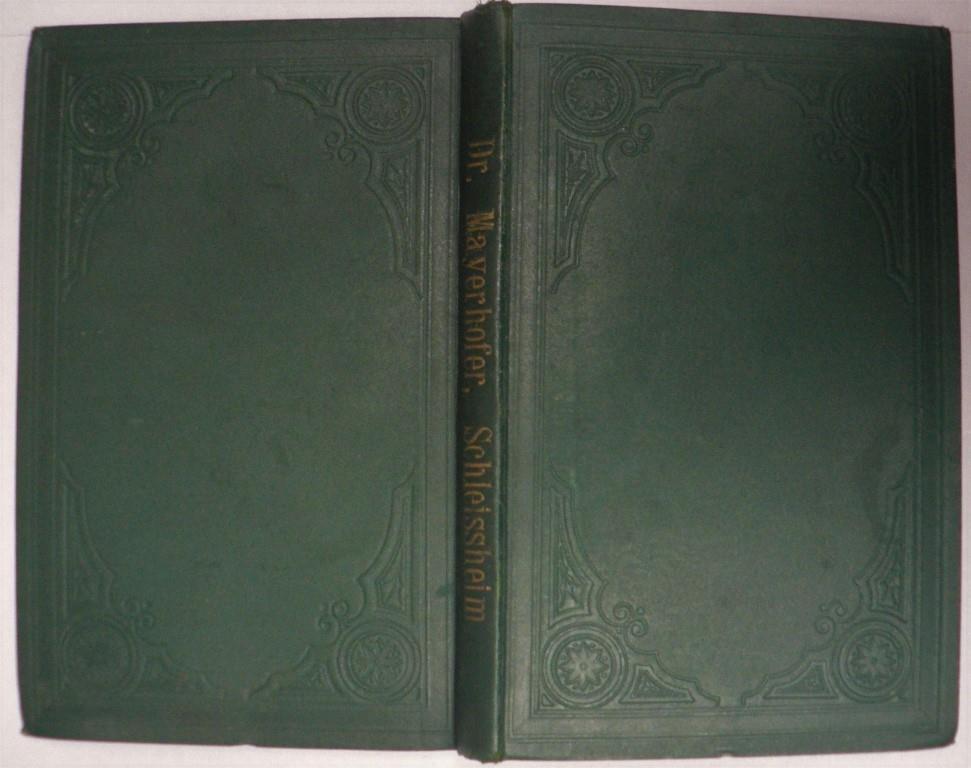 Schleissheim - Eine geschichtliche Federzeichnung aus der Bayerischen Hochebene (Bayerische Bibliothek, Band 8)