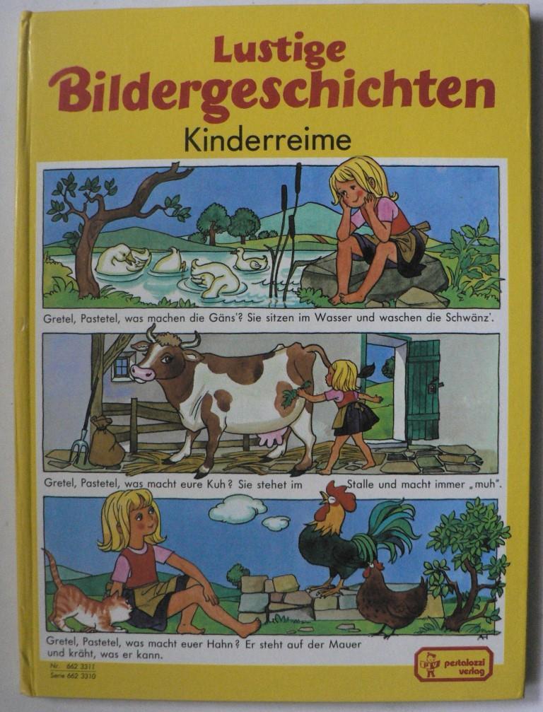 Lustige Bildergeschichten. Kinderreime - Anny Hoffmann (Illustr.)