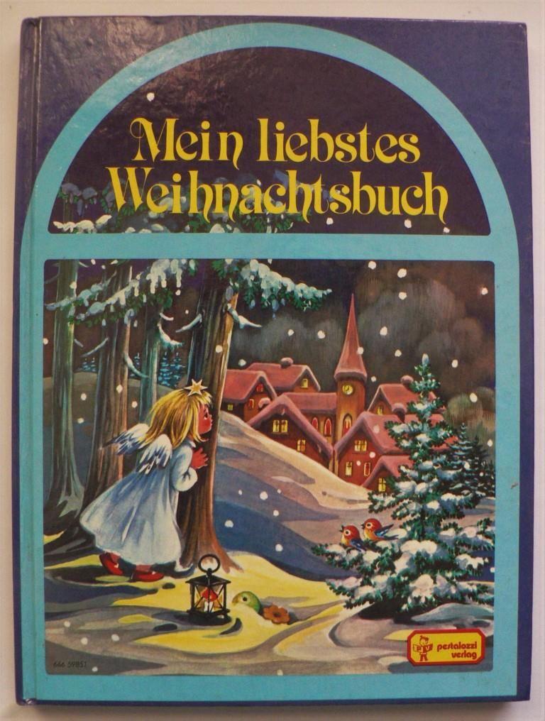 Mein liebstes Weihnachtsbuch mit Geschichten zum Lesen und Vorlesen, Weihnachtsgedichten und Nikolaussprüchen, Backrezepten für Lebkuchen und anderes Weihnachtsgebäck, Bastelanleitungen für kleine Geschenke und Rätseln für kleine Nussknacker.