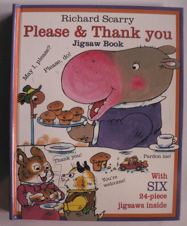 Please & Thank you. Jigsaw Book
