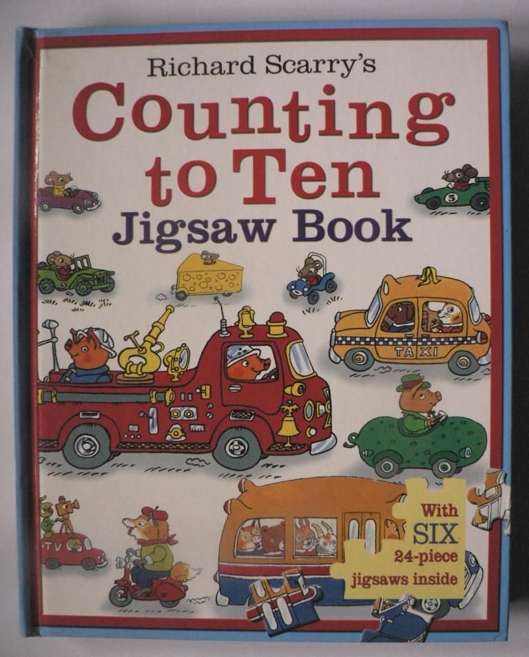 Richard Scarry`s Counting to Ten. Jigsaw Book