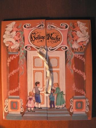 Heilige Nacht - Die Weihnachtskrippe. Ein Aufklappbuch der Geschichte der Heiligen Nacht - Judith Steinbacher (Illustrator)