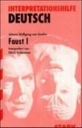 Faust 1. Interpretationshilfe Deutsch - Goethe, Johann Wolfgang von/Schlemmer, Ulrich