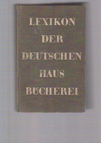 Lexikon der Deutschen Hausbücherei
