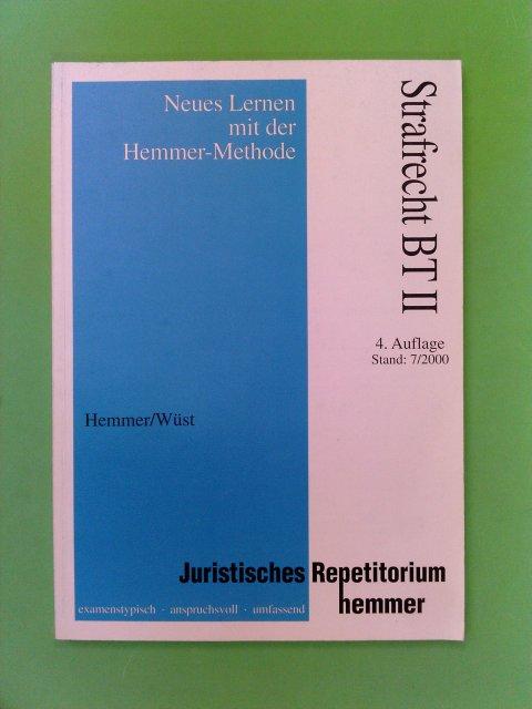 Strafrecht BT 2 4. Aufl.