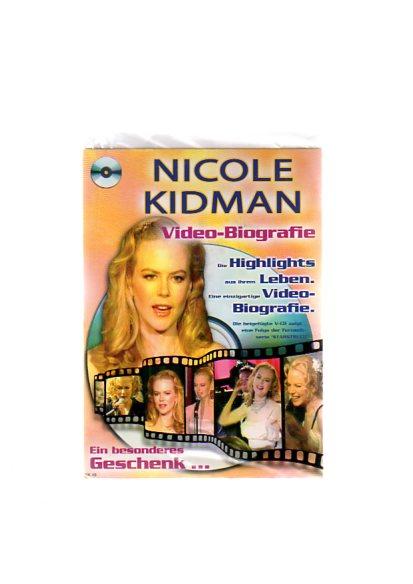 Nicole Kidman - Geschenkkarte mit Video-Biografie. Die beigefügte VCD zeigt eine Folge der Fernsehserie