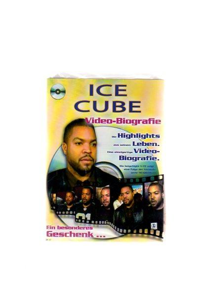 """Ice Cube - Geschenkkarte mit Video-Biografie. Die beigefügte VCD zeigt eine Folge der Fernsehserie """"Starstruck"""""""