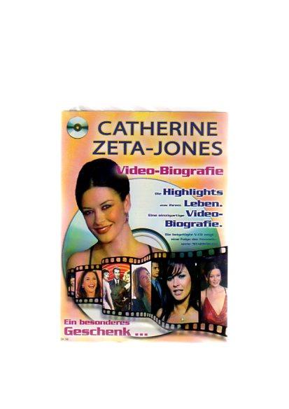 """Catherine Zeta-Jones - Geschenkkarte mit Video-Biografie. Die beigefügte VCD zeigt eine Folge der Fernsehserie """"Starstruck"""""""