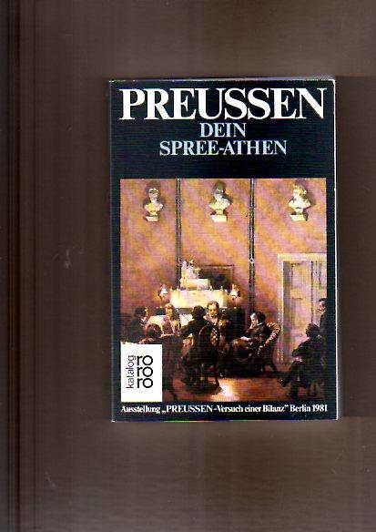 Preussen, Dein Spree-Athen : Beitr. zu Literatur, Theater u. Musik in Berlin.