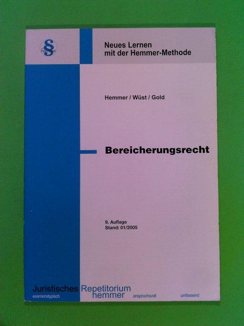 Bereicherungsrecht 9. Aufl.