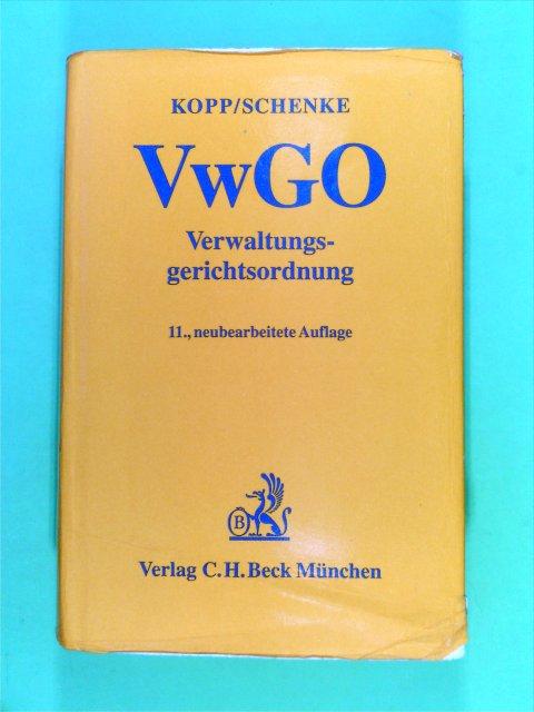 Verwaltungsgerichtsordnung ( VwGO) 11. Aufl.