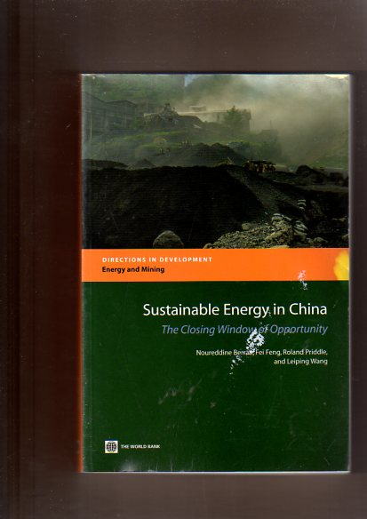 Sustainable Energy in China: The Closing Window of Opportunity (Directions in Development)