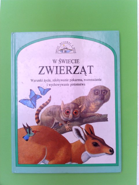 W Swiecie Zwierzat (Animals of the World and Where They Live - Windows on the World Series- in Polish)