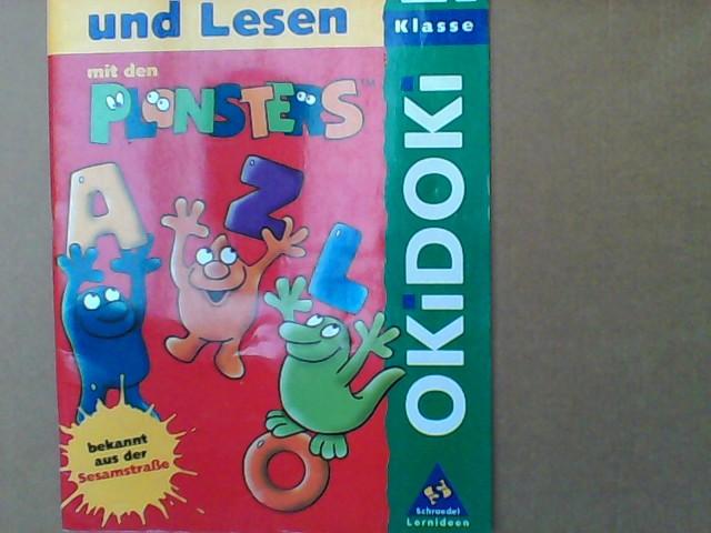 OKiDOKi - Plonsters: OKiDOKi, Lesen und Schreiben mit den Plonsters, neue Rechtschreibung, 2. Klasse