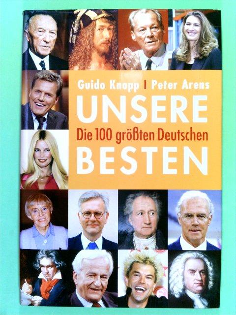 UNSERE BESTEN - DIE 100 GRÖßTEN DEUTSCHEN