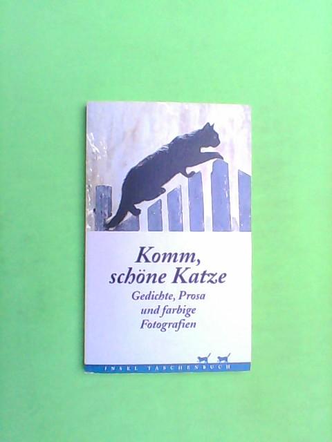 Komm, schöne Katze - Gedichte, Prosa und farbige Fotografien 1. Aufl.