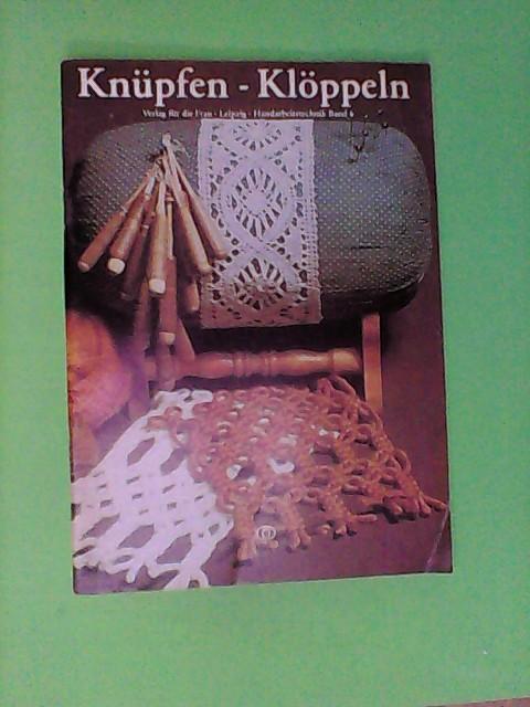 Knüpfen, Klöppeln, Bd 6