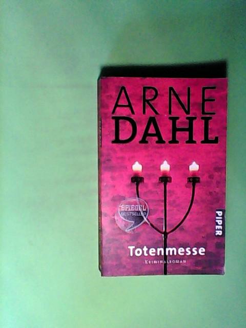 Dahl, Arne: Totenmesse. Kriminalroman
