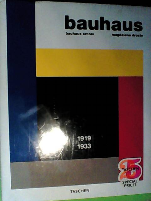 Bauhaus 1919-1933 Auflage: Nachauflage