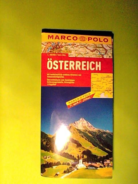 MARCO POLO Länderkarte Österreich 1:300.000 (MARCO POLO Länderkarten)  Auflage: 7 - Marco, Polo