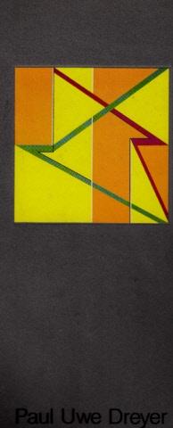 Autorengruppe; Paul Uwe Dreyer - Staatliche Kunsthalle Berlin - Ausstellung vom 29.11.86 - 28.12.86