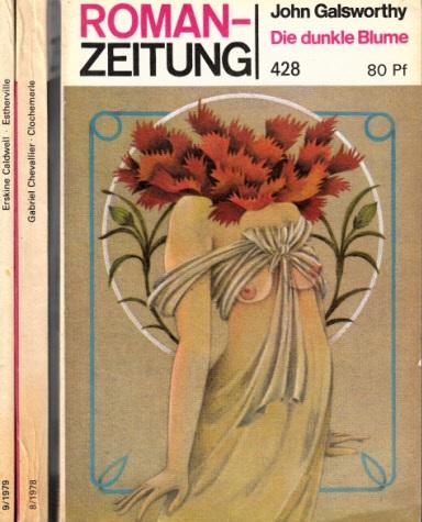 Estherville - Chlochemerle - Die dunkle Blume 3 Romane - Romanzeitung Nr. 355, 341, 428