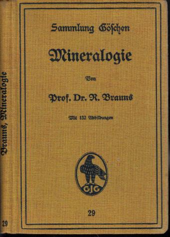 Mineralogie Sammlung Göschen 29 6., verbesserte Auflage
