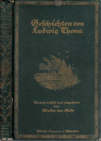 Geschichten von Ludwig Thoma 16.-30. tausend